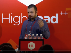 Доклад на Highload++ 2016